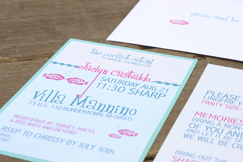Beach Themed Bridal Shower Invitations as adorable invitation ideas