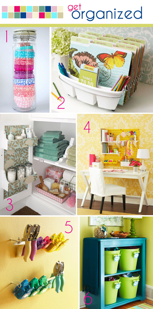 Charming Diy Organization Ideas Part - 12: ... DIY Organization Ideas! 1. ...